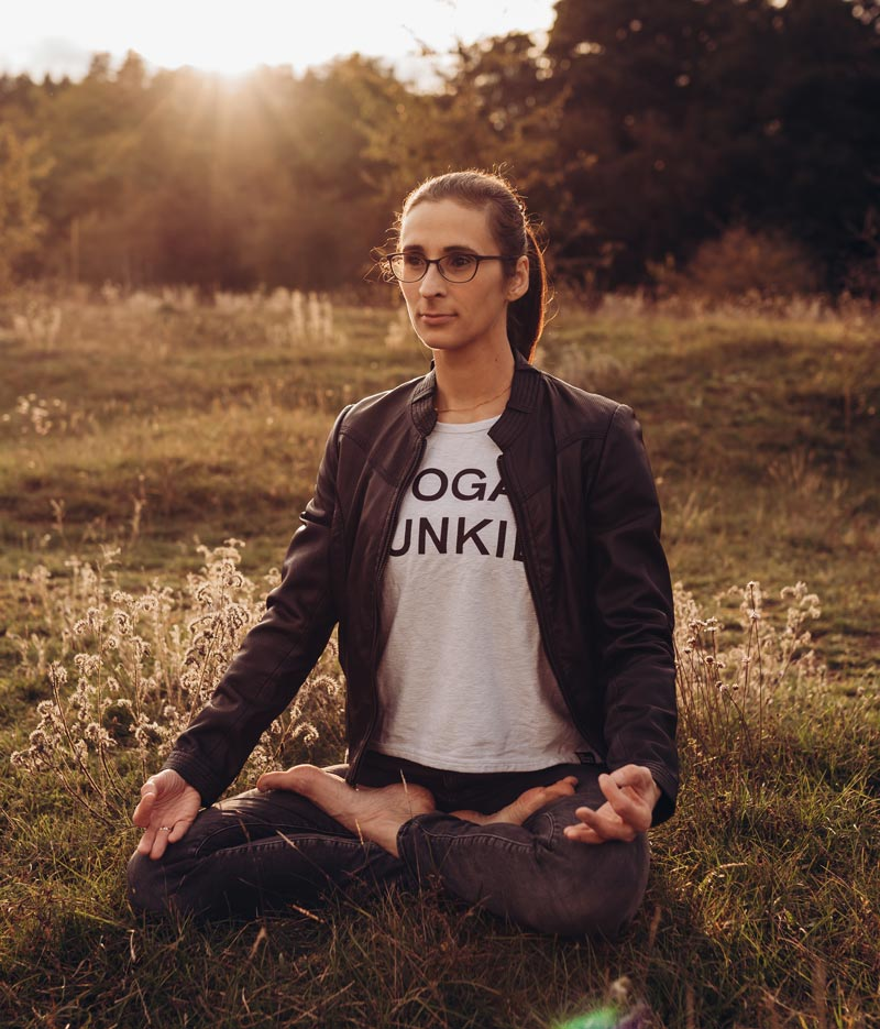 Yogalehrerin Veronika